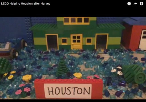 Student Creates Incredible Harvey Simulation Using Legos