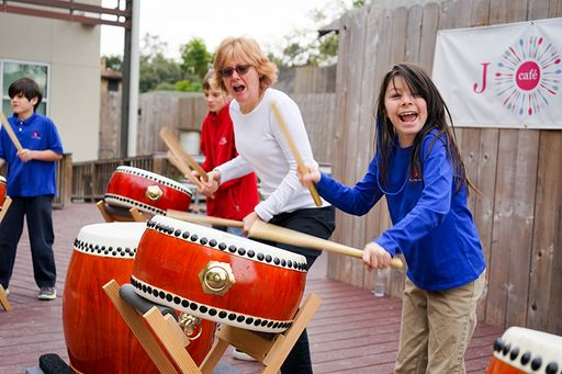 Taiko Drum Students Get Your Heart Thumping