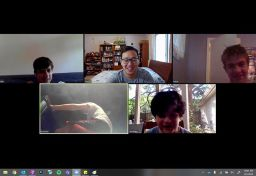#JoyFromAfar: Building Social Skills and Providing Normalcy Through Virtual Hangouts